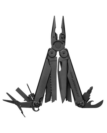 Leatherman - WAVE PLUS Black Schwarz