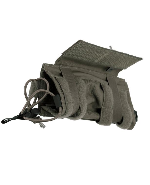 TASMANIAN TIGER TT 2 SGL Backup Mag Pouch M4 IRR Steingrau Oliv