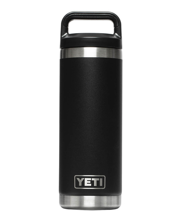 YETI Rambler 18 Oz Bottle Black