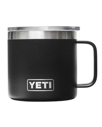 YETI - Rambler 14 Oz Mug Black Schwarz
