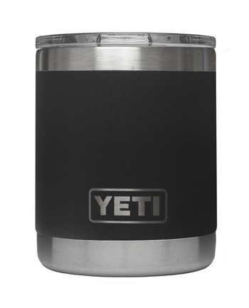 YETI - Rambler 10 Oz Lowball Black