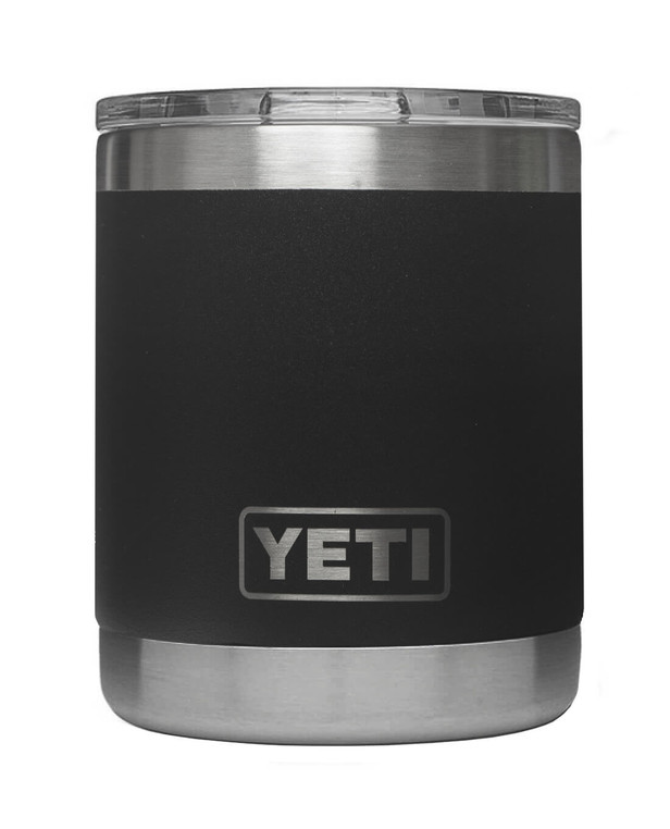 YETI Rambler 10 Oz Lowball Black