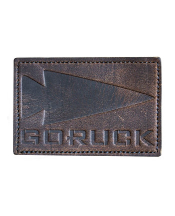 GoRuck - GORUCK Spearhead Brown Leather Patch