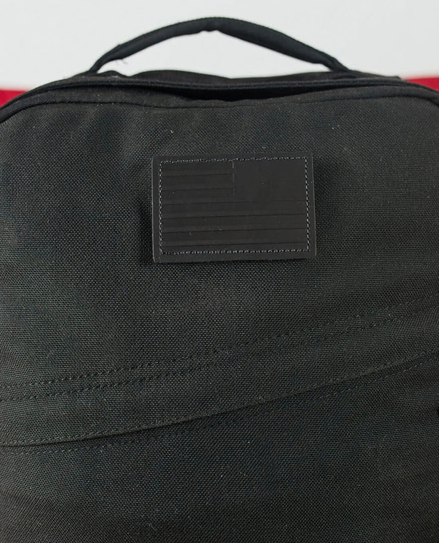 GoRuck Reverse Flag Black Leather Patch