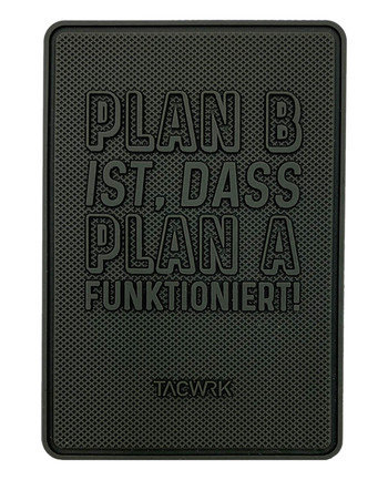 TACWRK - Plan B Rubberpatch Oliv