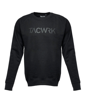 TACWRK - Black on Black Sweatshirt