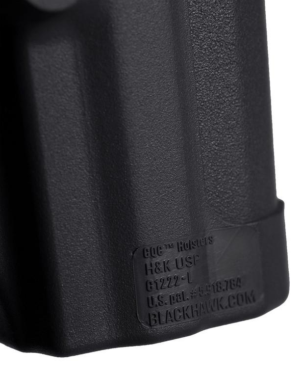 Blackhawk! CQC Holster H&K USP/P8 Links Schwarz