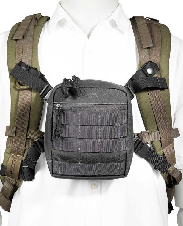 TASMANIAN TIGER TT Pouch Harness Adapter Black Schwarz