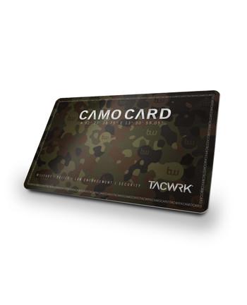 TACWRK - Camo Card 10%