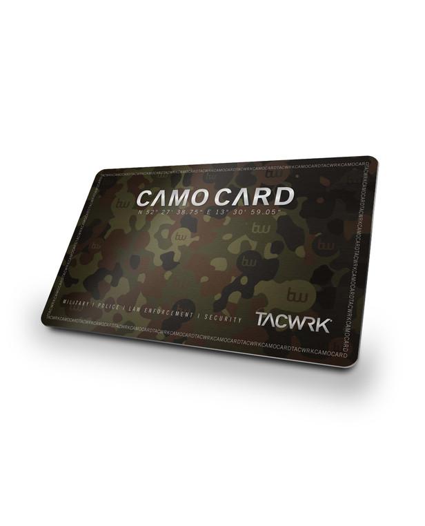 TACWRK Camo Card 10%