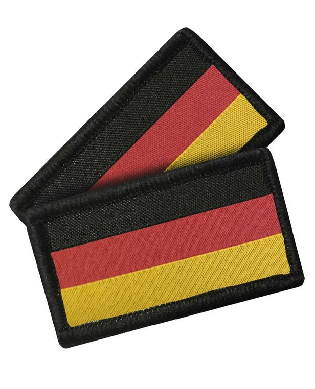 TACWRK Deutschlandflagge 2er Set Gewebt