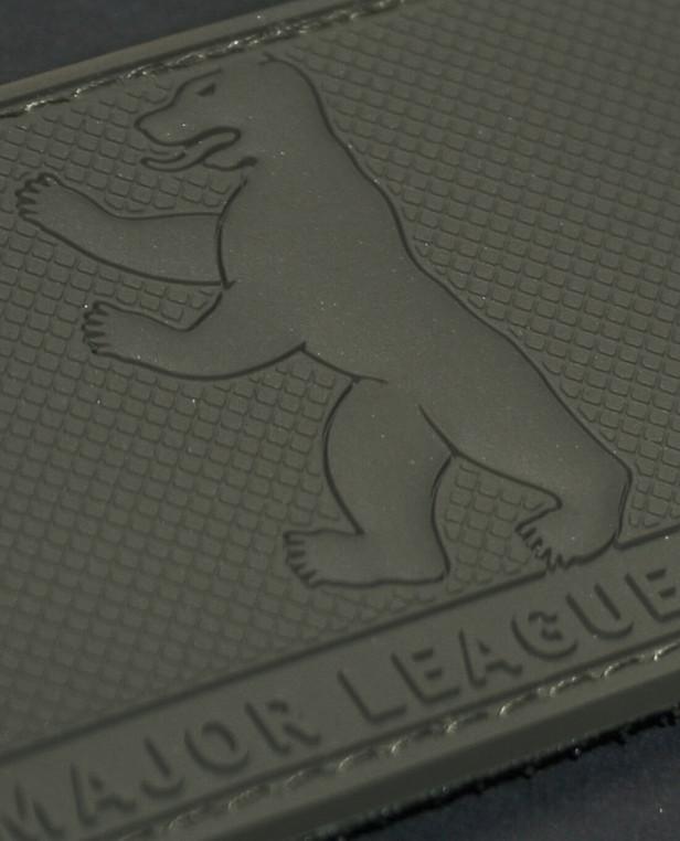 TACWRK Major League Berlin Bear Rubberpatch Olive