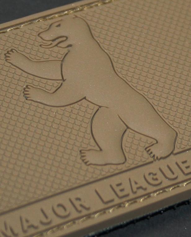 TACWRK Major League Berlin Bear Rubberpatch Coyote