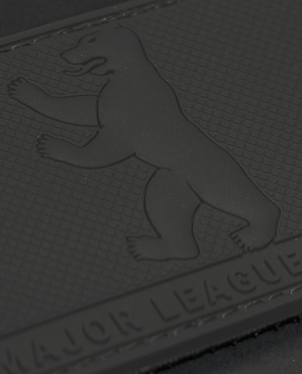 TACWRK Major League Berlin Bär Rubberpatch Schwarz