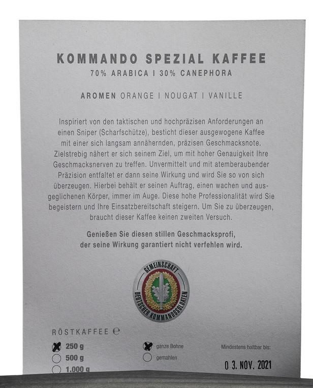 TACWRK Kommando Spezial Kaffee Sniper