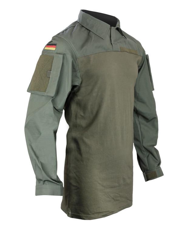 Leo Köhler Combatshirt Ripstop Oliv