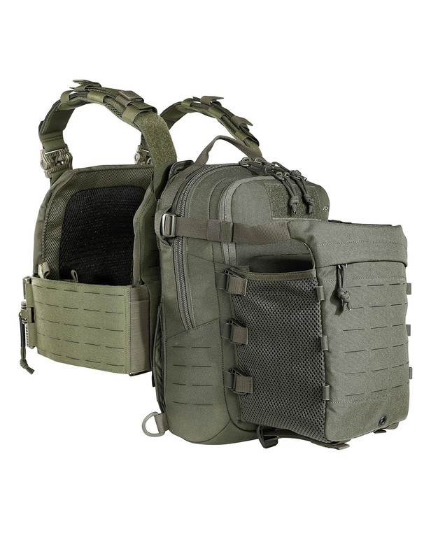 TASMANIAN TIGER TT Assault Pack 12 IRR Steingrau Oliv