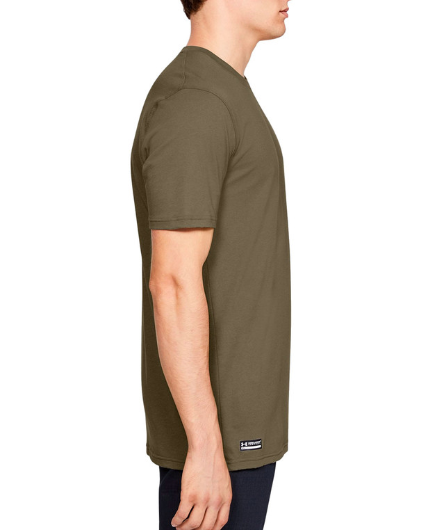 Under Armour Tactical Cotton T-Shirt Federal Tan