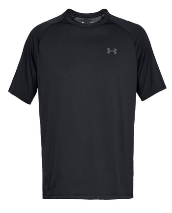 Under Armour - UA Tech 2.0 SS Tee Black Schwarz