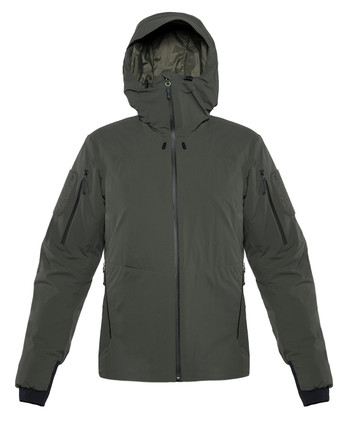 DNS Alpha - Heavy Insulation Hoody Olive Green