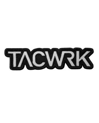 TACWRK - Cutout Patch Gestickt Schwarz