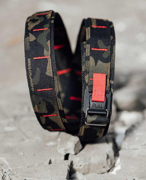 md-textil EDC Belt Multicam Black