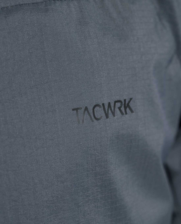 DNS Alpha Light Insulation Hoody Dark Grey TACWRK Logo