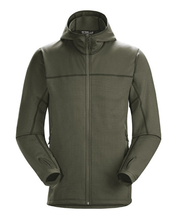 Arc'teryx LEAF - Naga Hoody Full Zip Men's (Gen2) Ranger Green