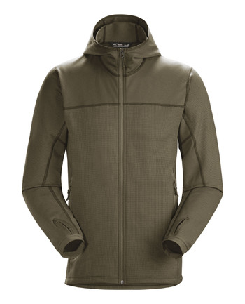 Arc'teryx LEAF - Naga Hoody Full Zip Men's (Gen2) Crocodile