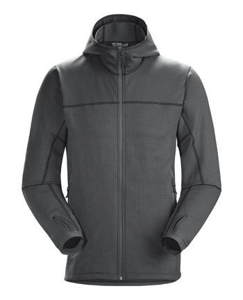 Arc'teryx LEAF - Naga Hoody Full Zip Men's (Gen2) Wolf