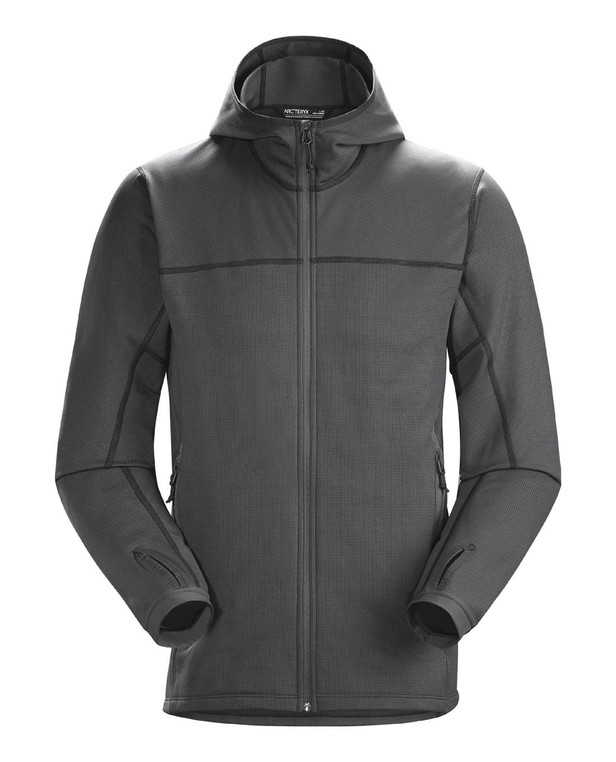 Arc'teryx LEAF Naga Hoody Full Zip Men's Gen2 Wolf