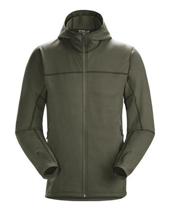 Arc'teryx LEAF - Naga Hoody Full Zip Men's (Gen2) Ranger Green