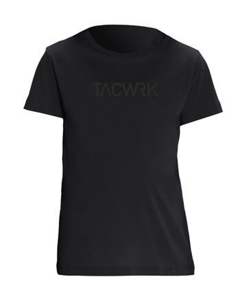 TACWRK - Kids T-Shirt Black on Black