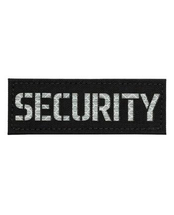 TERRA B - Patch SECURITY Black