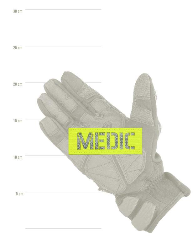 TERRA B Patch MEDIC Neongelb