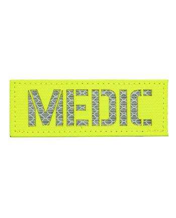TERRA B - Patch MEDIC Neongelb