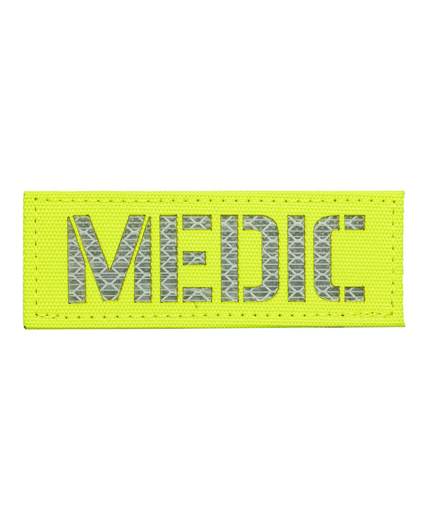TERRA B Patch MEDIC Bright Yellow