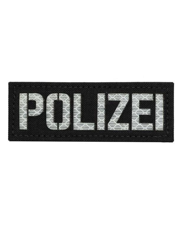 TERRA B Patch POLIZEI Schwarz
