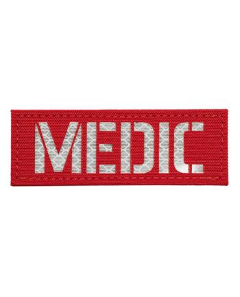 TERRA B - Patch MEDIC Red