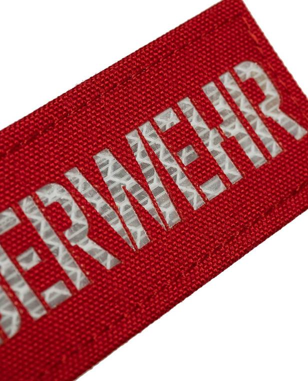 TERRA B Patch FEUERWEHR Red