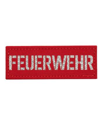 TERRA B - Patch FEUERWEHR Red