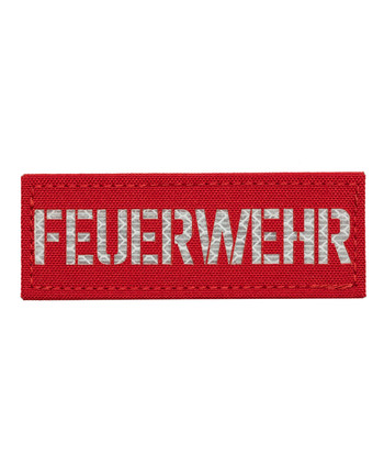 TERRA B - Patch FEUERWEHR Rot