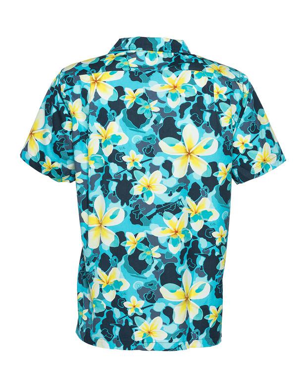 OTTE Gear Aloha Pua Honu Shirt Blue Atoll