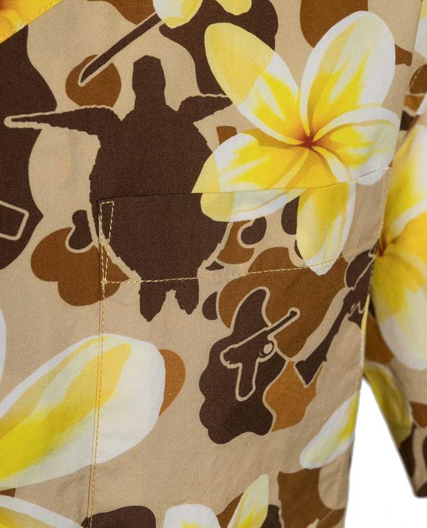 OTTE Gear Aloha Pua Honu Shirt Beach Tan