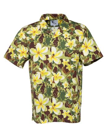 OTTE Gear - Aloha Pua Honu Shirt Jungle Green