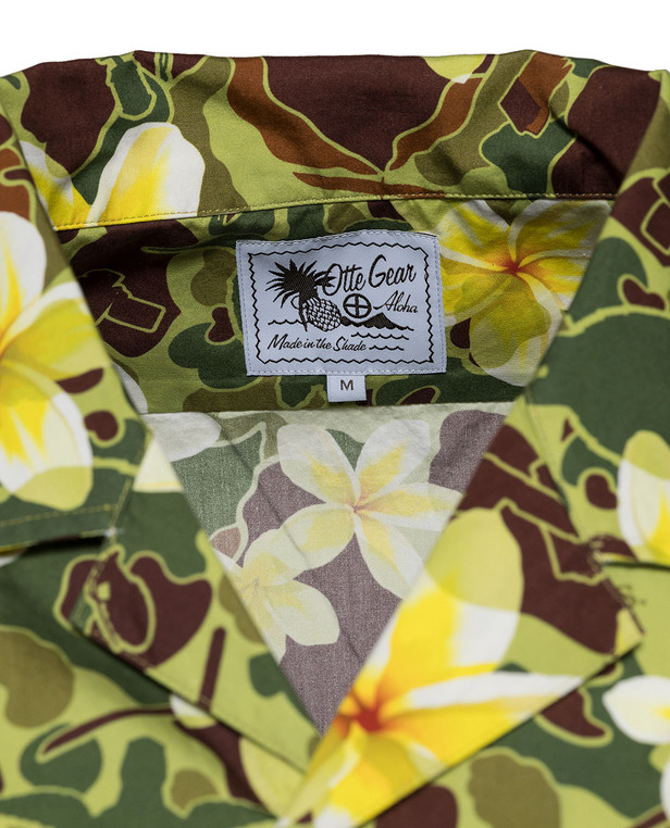 OTTE Gear Aloha Pua Honu Shirt Jungle Green