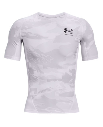Under Armour - Iso-Chill Compression Printed SS White