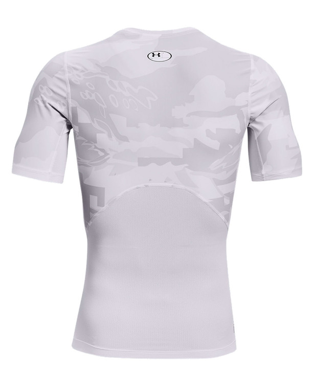Under Armour Iso-Chill Compression Printed SS White