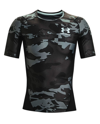 Under Armour - Iso-Chill Compression Printed SS Black