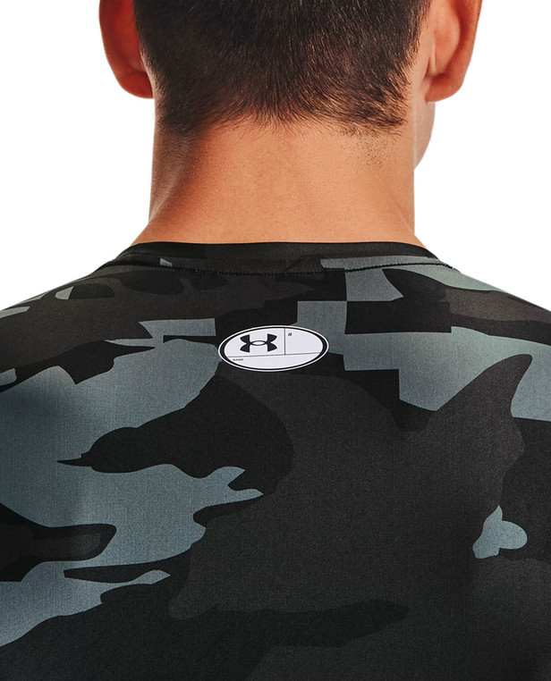 Under Armour Iso-Chill Compression Printed SS Black